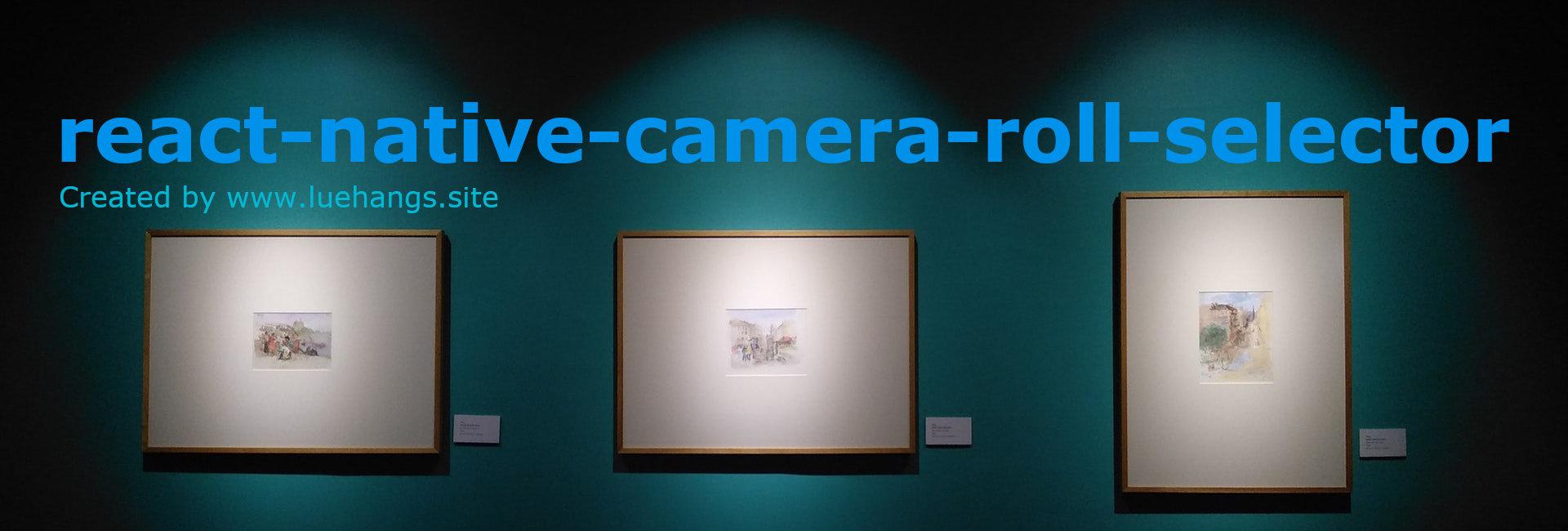 react-native-camera-roll-selector